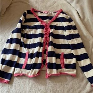 Girls Lilly Pulitzer stripe sweater